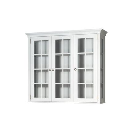 Stockholm Vitrin glassidor 3 vitrindörrar