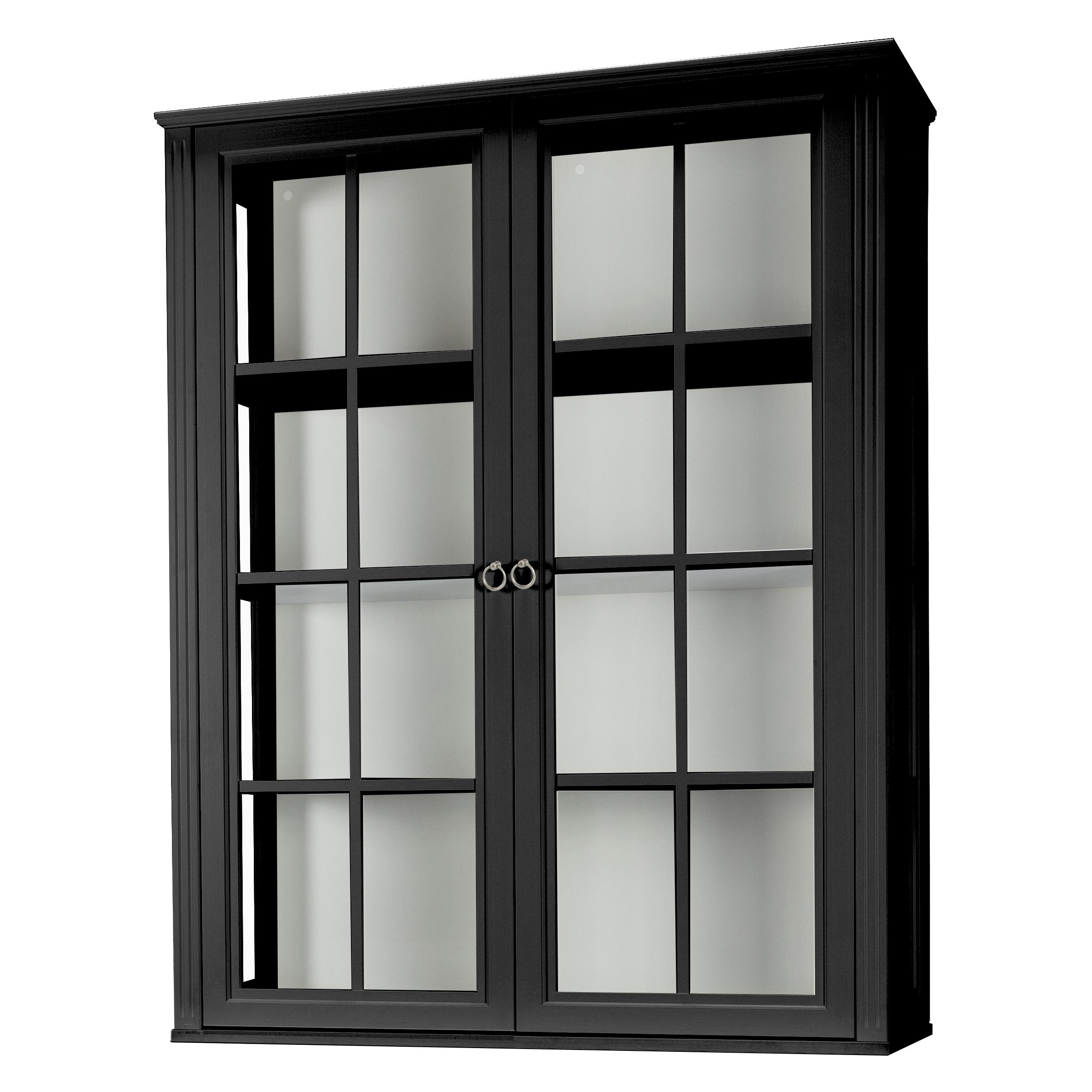 Stockholm 2.0 Vitrin glassidor 2 vitrindörrar