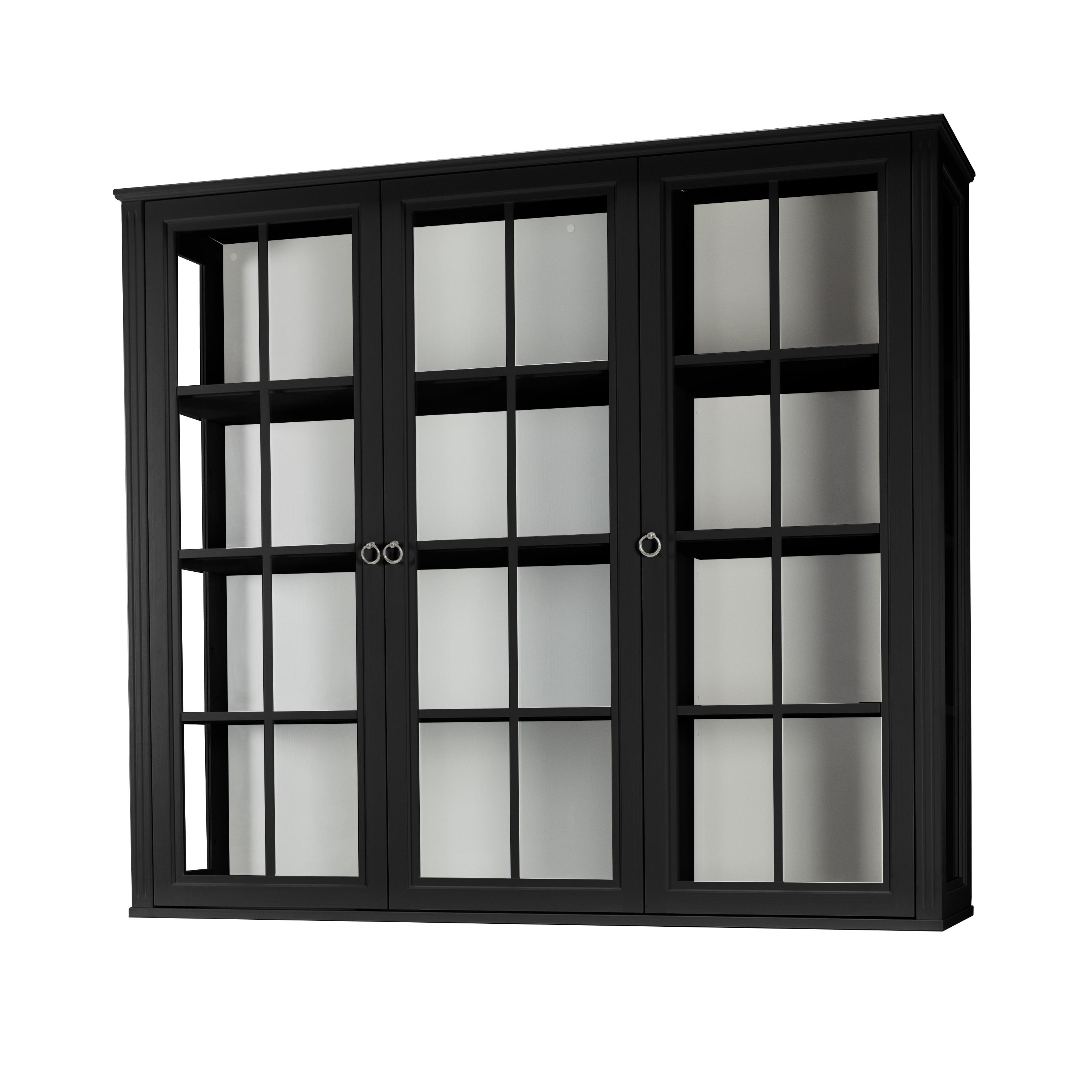 Stockholm 2.0 Vitrin glassidor 3 vitrindörrar