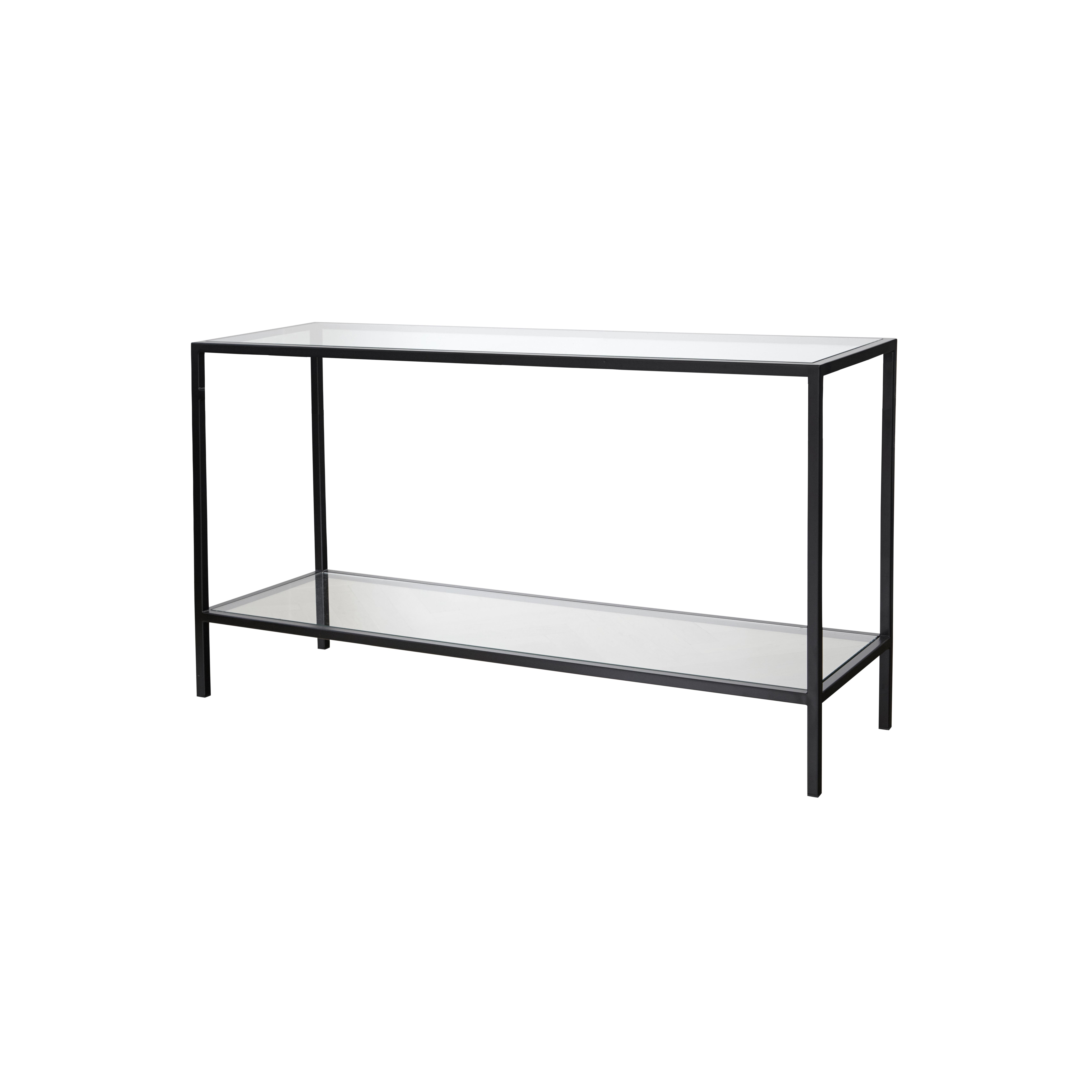 2000 metall Black avlastningsbord glasskivor - englesson.se