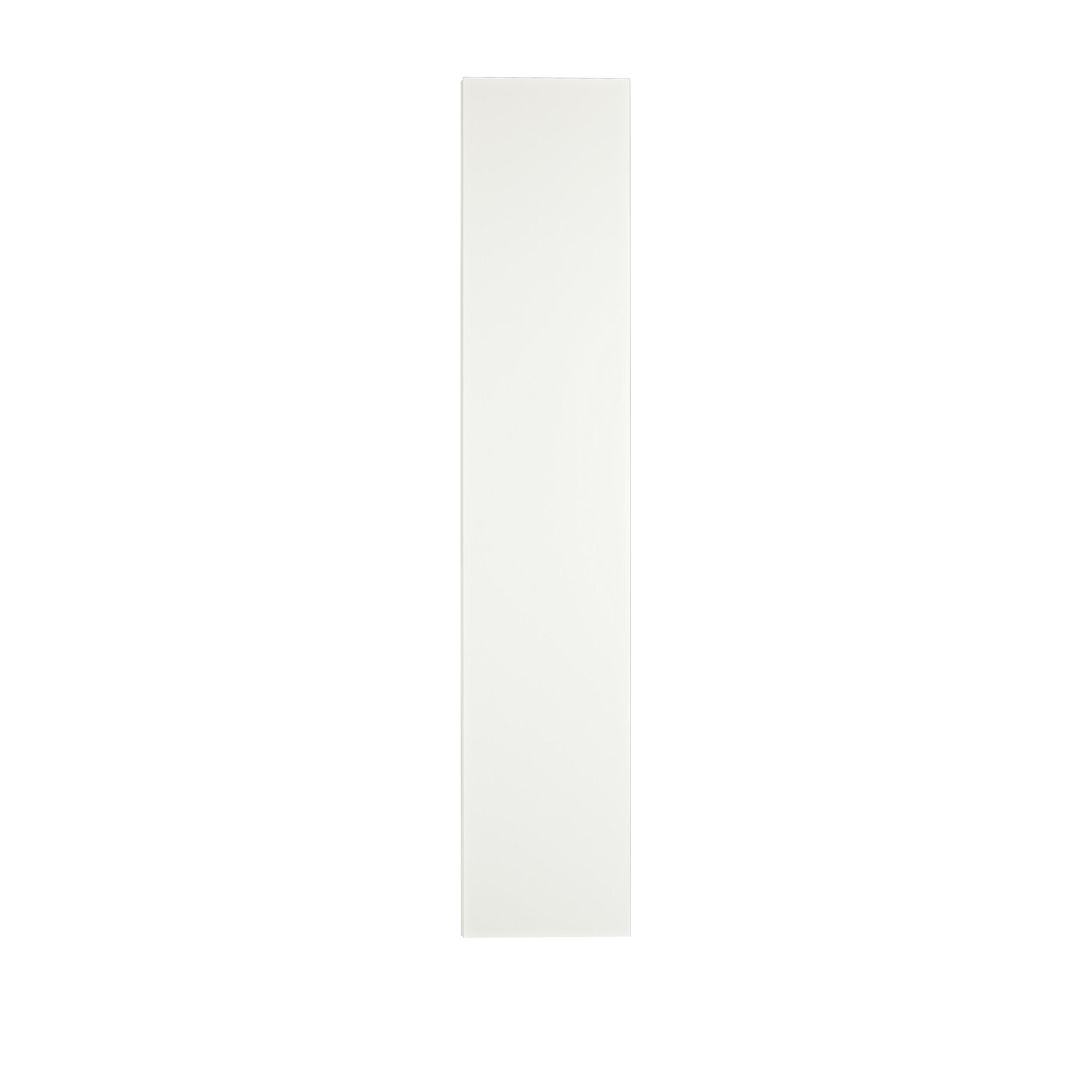 Line Vitrinskåp White från sidan - englesson.se