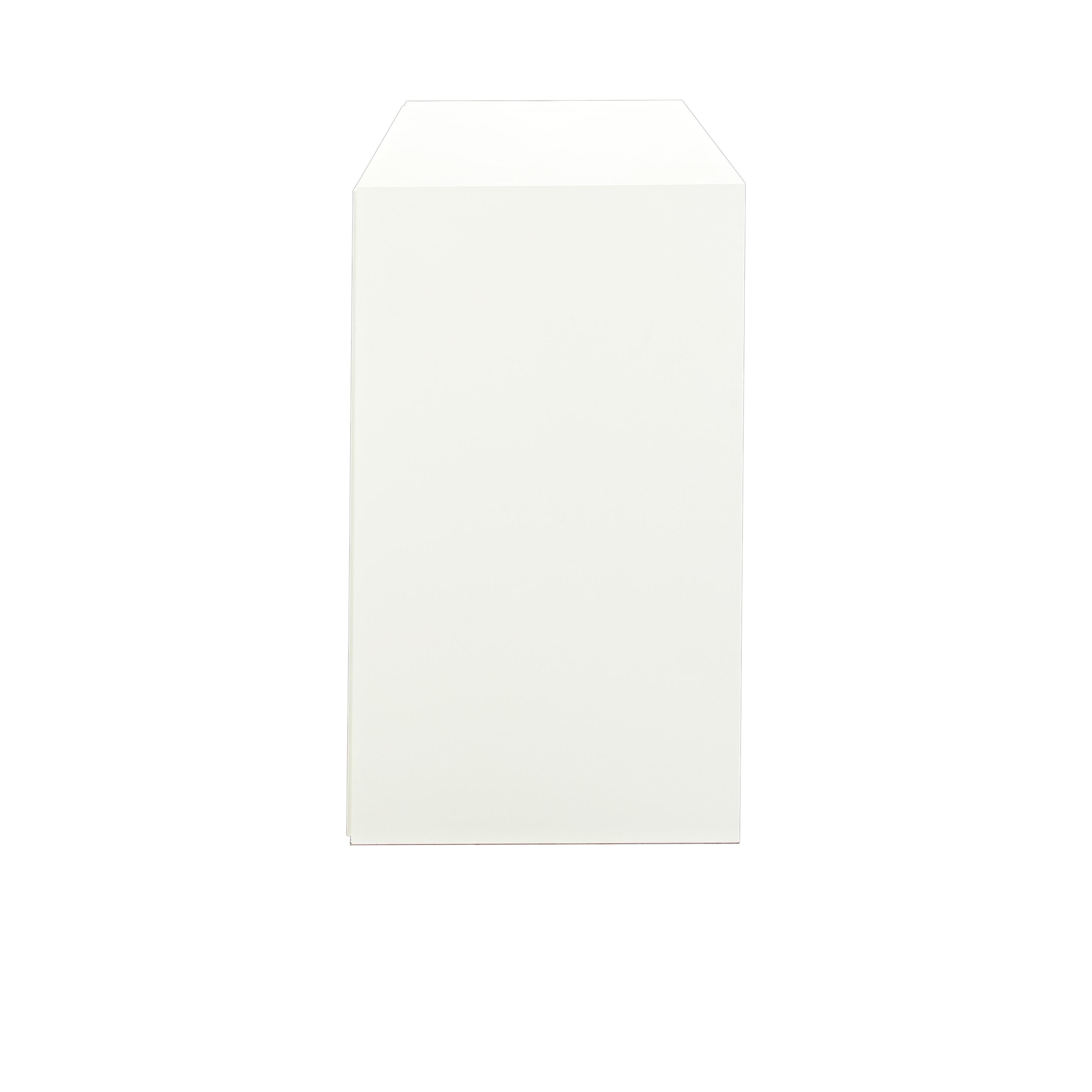 Line Byrå 3+3 lådor White från sidan - englesson.se
