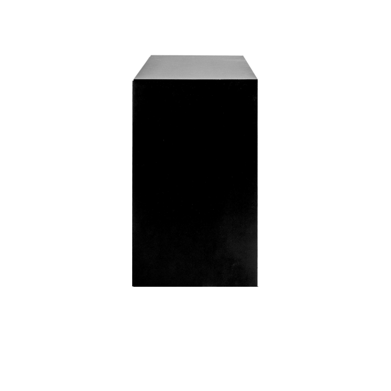 Line Byrå 3+3 lådor Black från sidan - englesson.se