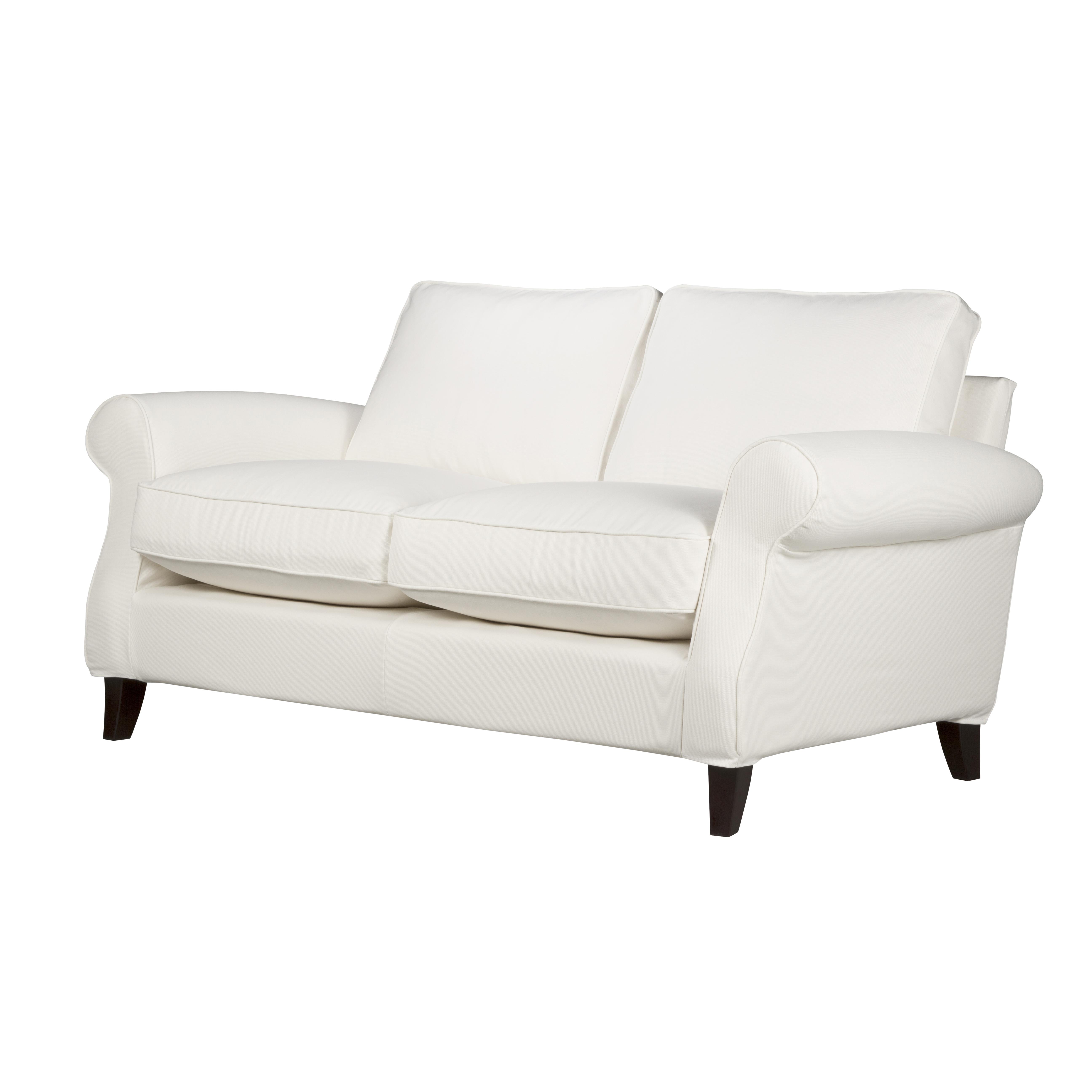 Djursholm soffa 2-sits snett framifrån - englesson.se