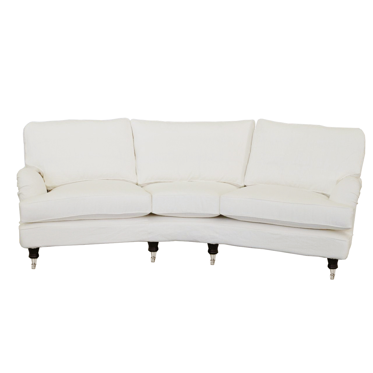 Howard medium soffa 3,5-sits svängd - englesson.se