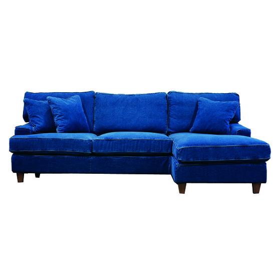 Sandhamn soffa med divan Höger
