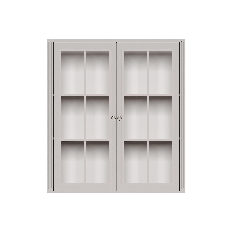 STOCKHOLM 2.0 VITRIN/ÖVERSKÅP 2 vitrindörrar