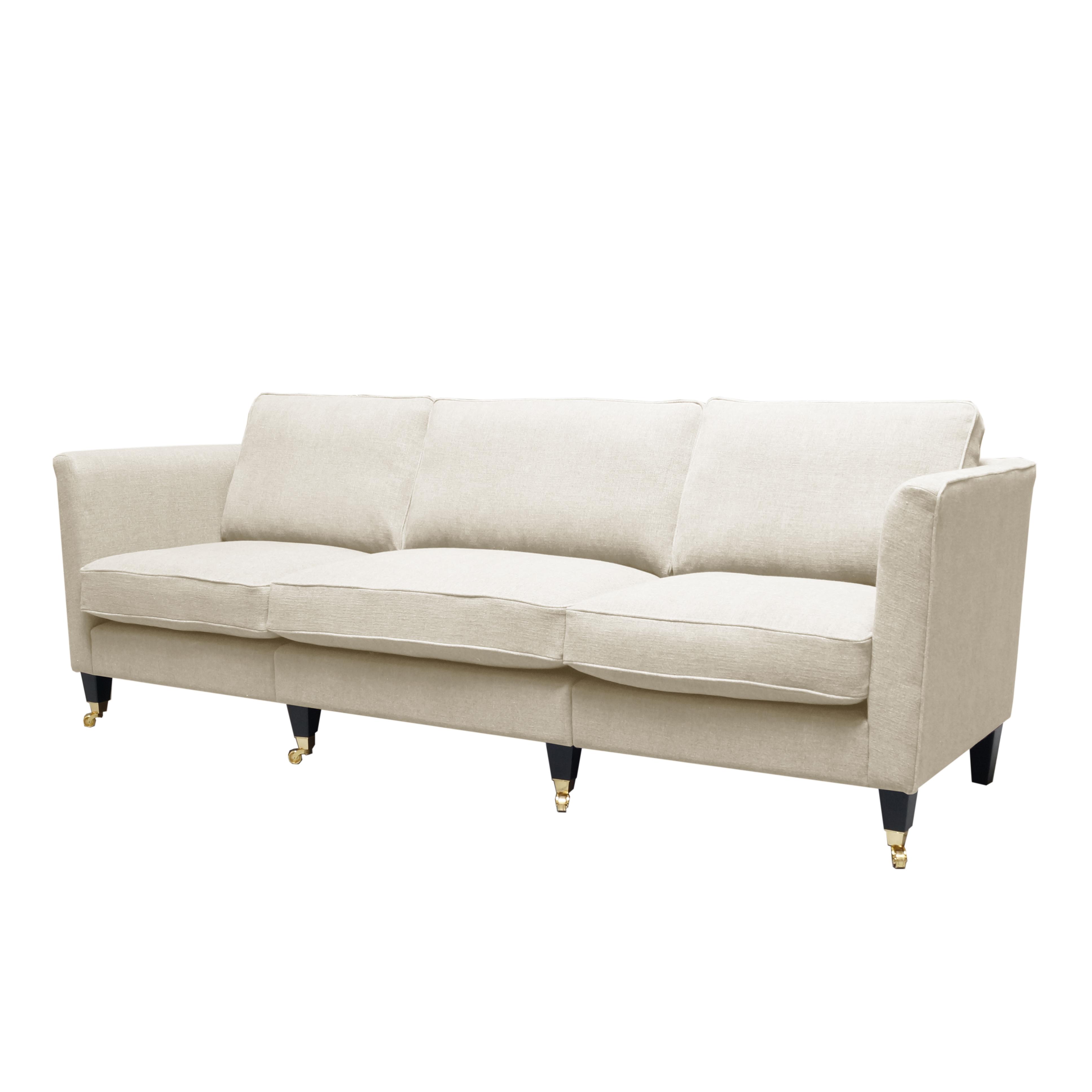 Carlton soffa 3,5-sits snett framifrån - englesson.se