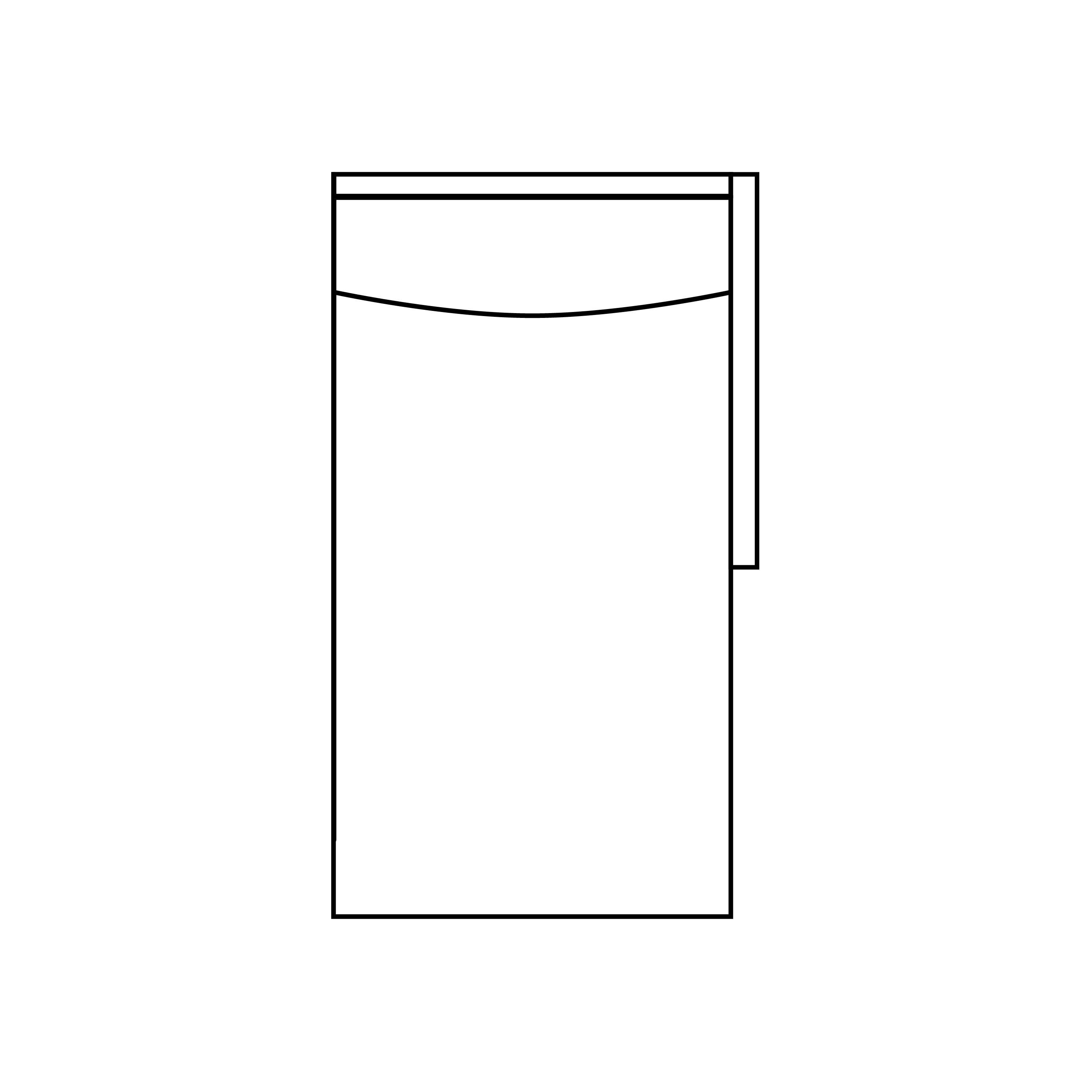 Somerville modulsoffa divan höger ritning - englesson.se