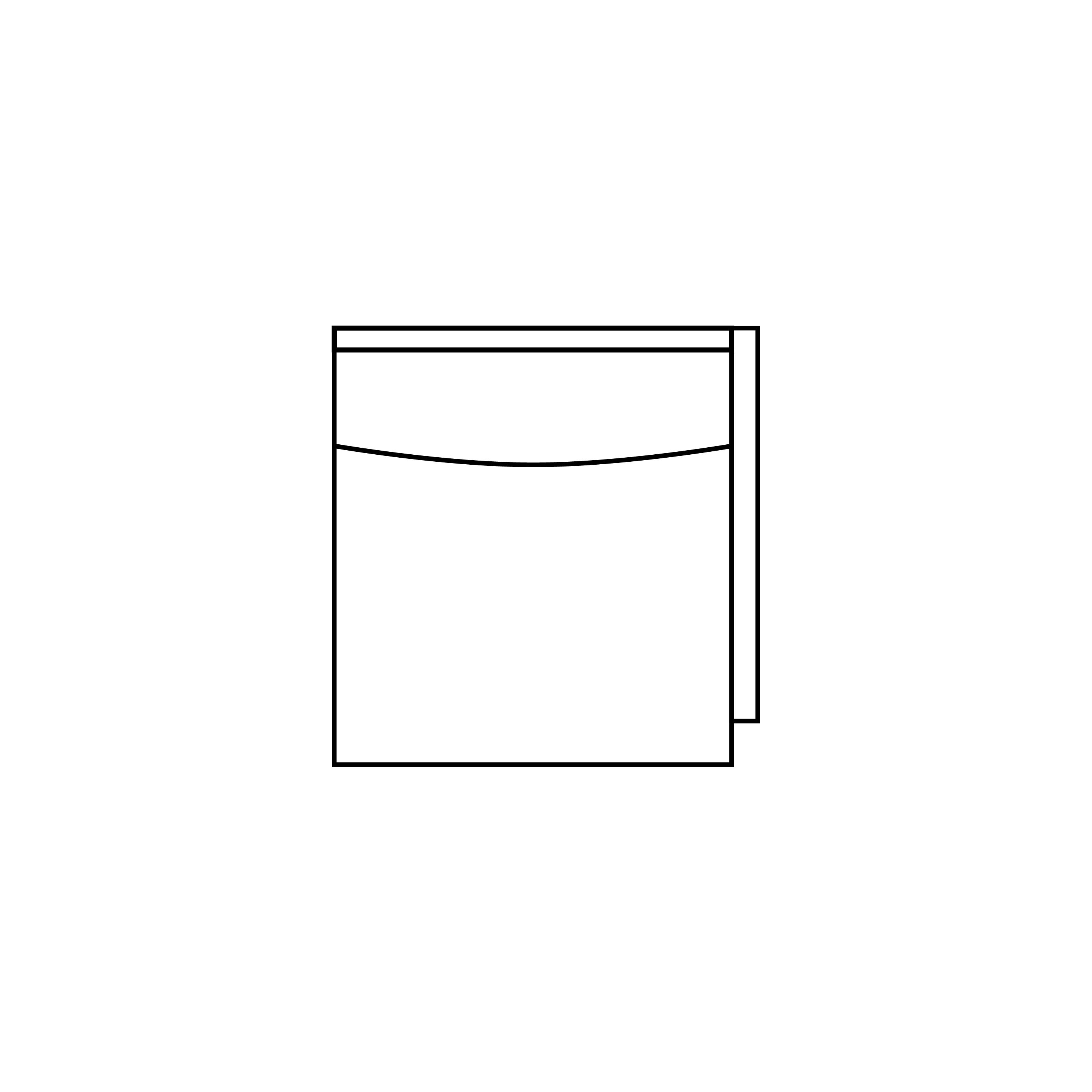 Somerville modulsoffa avslut höger ritning - englesson.se