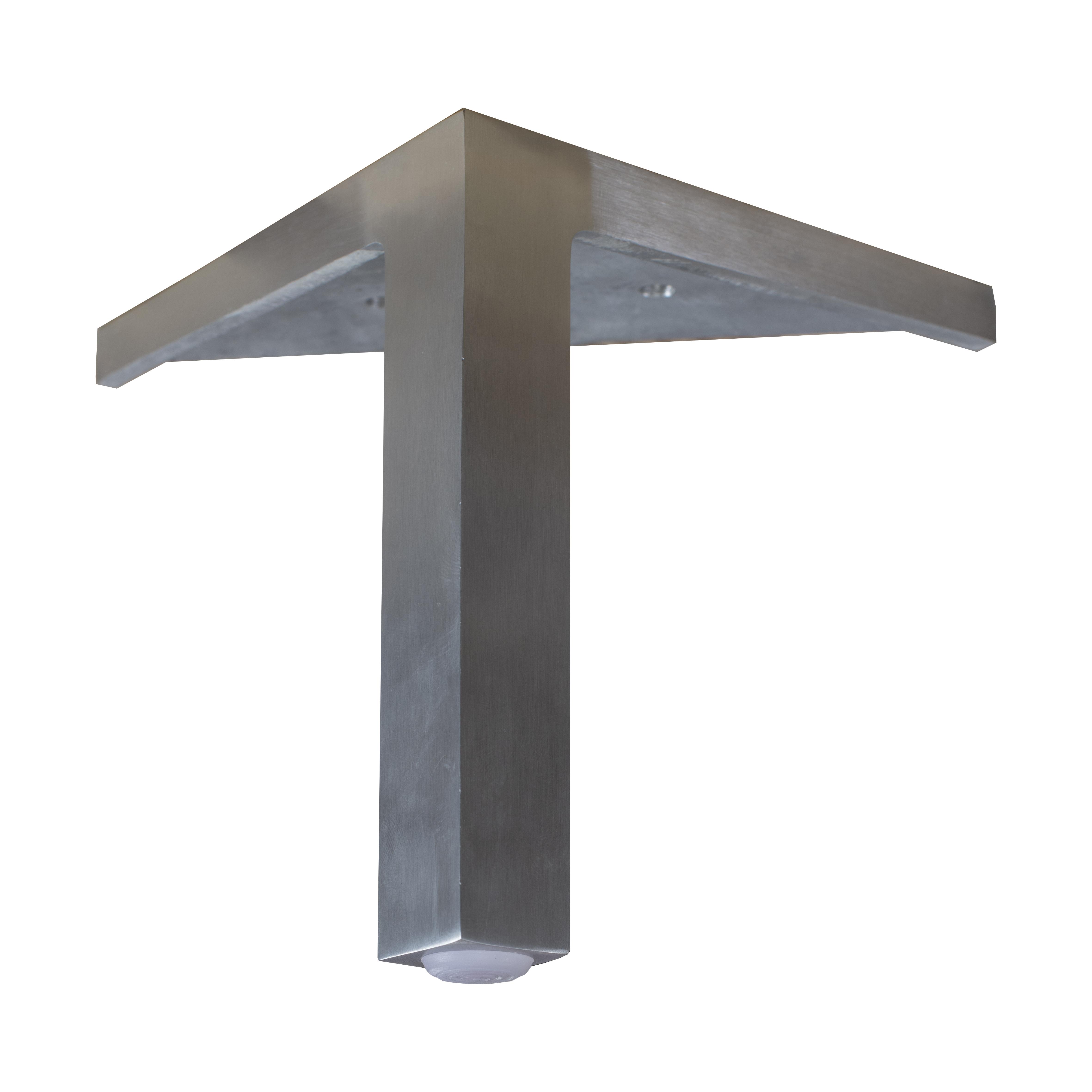 15 cm Mind ben i kromad metall med synligt hörnfäste - englesson.se