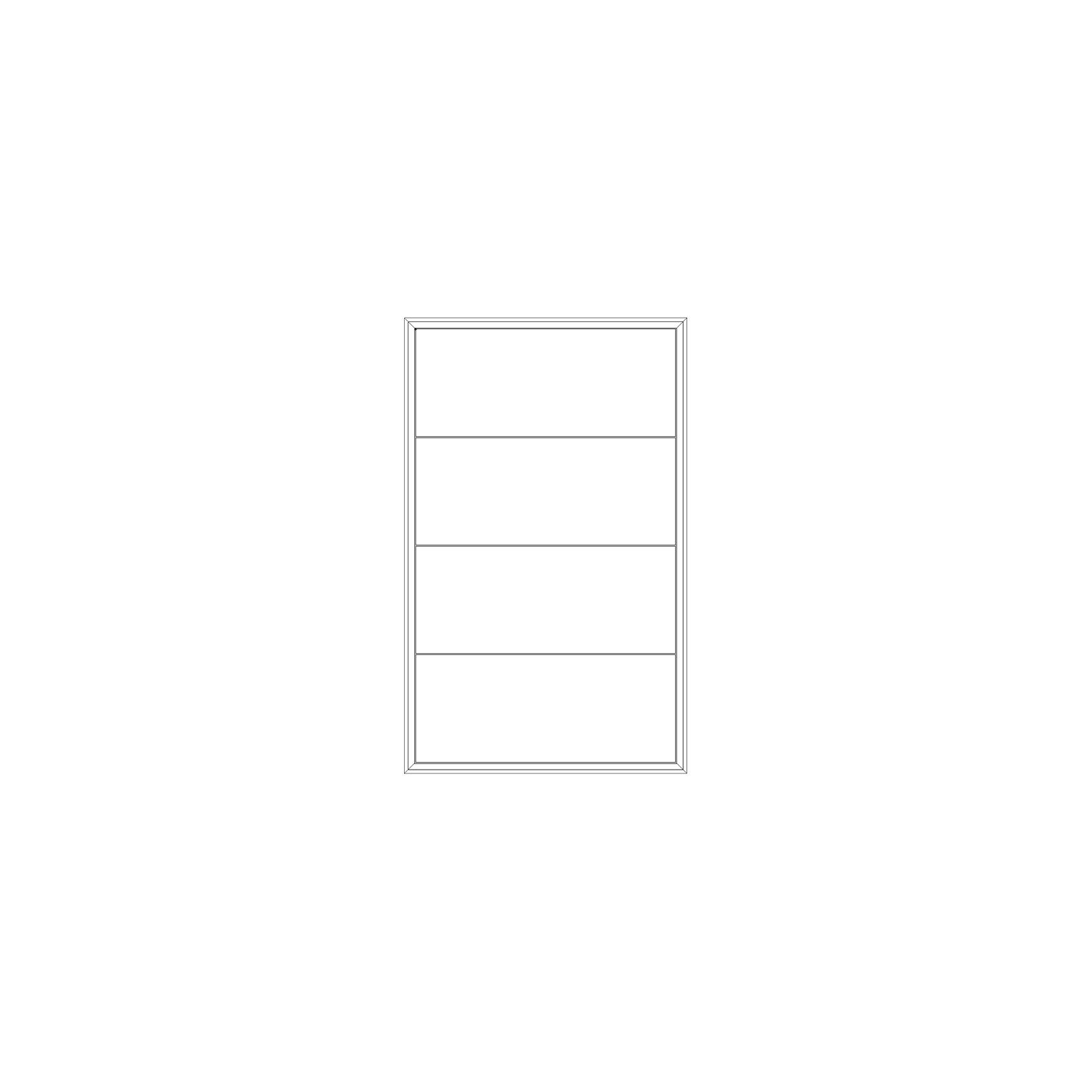 EDGE 1-SEKTION 4 lådor