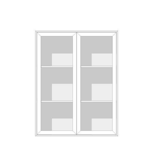 EDGE 2-SEKTION 2 vitrindörrar HÖG - englesson.se