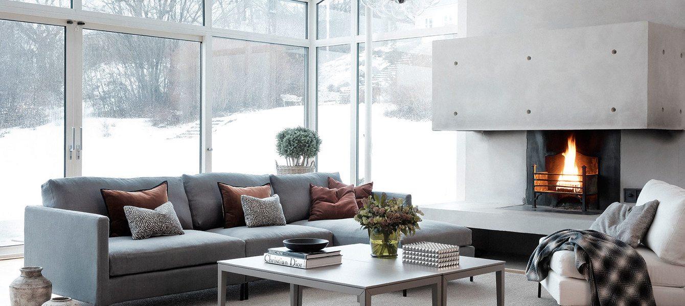 Välj rätt klädsel på din soffa  i vardagsrummet